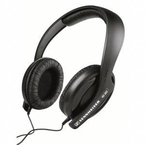 Sennheiser HD 202-II On-Ear Headphones - Black