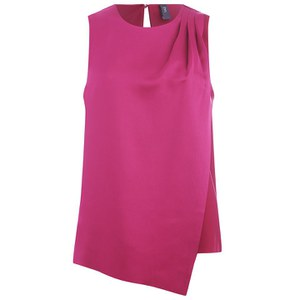 Y.A.S Women's Vinchy Layered Top - Beet Red