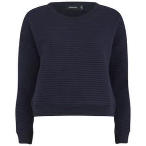 MINKPINK Women's Take Care Rib Sweatshirt - Navy