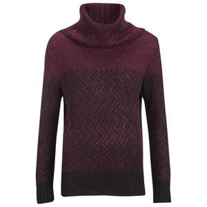 ONLY Womens Mara Rollneck Jumper - Windsor Wine