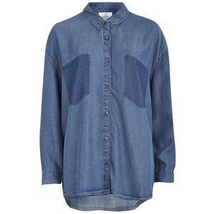 Cheap Monday Women's Free Light Denim Shirt - Luv Blue