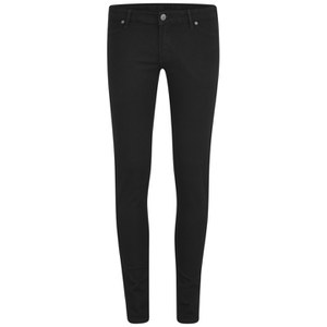 Cheap Monday Women's Super Soft Low Rise Super Skinny Jeans - Black