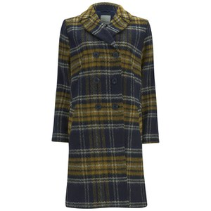 Great Plains Women's Double Breasted Coat - True Navy