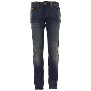 Superdry Mens' Standard Skinny Denim Jeans - Antique Vintage