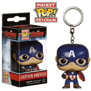 Porte-Clés Pocket Pop! Captain America Avengers : L'ère d'Ultron Marvel