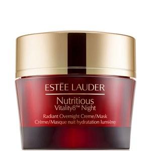 Crème/Masque nuit teint rayonnant Nutritious Vitality8 d'Estée Lauder50ml