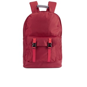 C6 Men's Pocket Backpack - Red Nylon