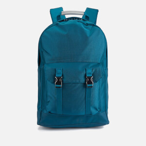 C6 Men's Pocket Backpack - Teal Nylon