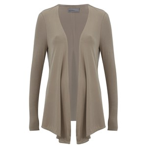 Vero Moda Women's Dexter Long Sleeve Cardigan - Silver Mink