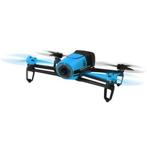 Parrot Bebop Drone (Embedded GPS, 14MP Camera, 1080p HD Camcorder, 8GB Flash Storage) - Blue