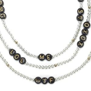 Venessa Arizaga Women's Say What? Necklace - Pearl