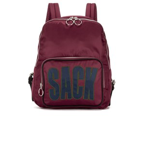 House of Holland Women's Sack Backpack - Maroon