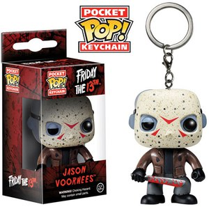 Friday The 13th Jason Voorhees Pocket Pop! Vinyl Schlüsselanhänger