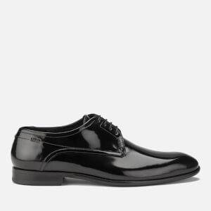 HUGO Men's C-Dresspat Leather Derby Shoes - Black