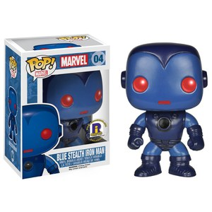 Marvel Blue Stealth Iron Man Exclusive Pop! Vinyl Figure