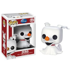 Disney Nightmare Before Christmas Zero Glow in the Dark Exclusive Pop! Vinyl Figure
