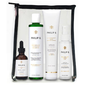Philip B Vier Schritt Hair und Scalp Treatment Set
