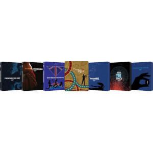 Alle 7 James Bond Zavvi Exklusive Steelbooks Blu-ray