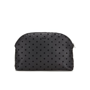 Maison Scotch Women's Dots Toiletry Bag - Black