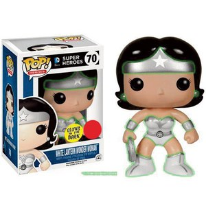 White Lantern Wonder Woman Glow In The Dark Pop! Vinyl Figure
