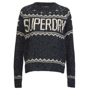 Superdry Women's Bashful Knitted Jumper - Navy