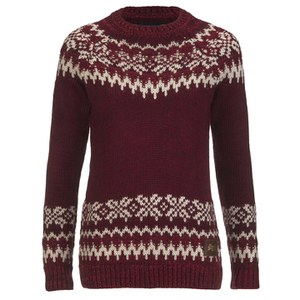 Superdry Women's Courcheval Knitted Jumper - Red