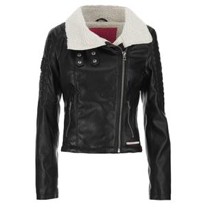 Superdry Women's Roadie Bonnie Biker Jacket - Black