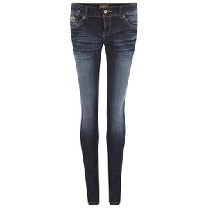 Superdry Women's Cara Skinny Jeans - Real Authentic Blue