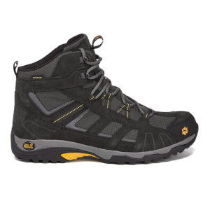 Jack Wolfskin Men's Vojo Hike Texapore Mid Walking Boots - Burly Yellow