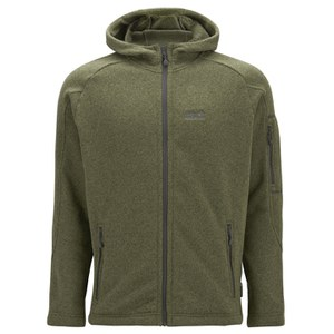Jack Wolfskin Men's Caribou Lodge Fleece Jacket - Burnt Olive