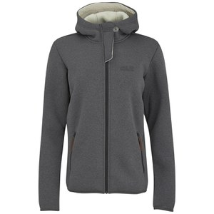 Jack Wolfskin Women's Terra Nova Hooded Jacket - Dark Steel