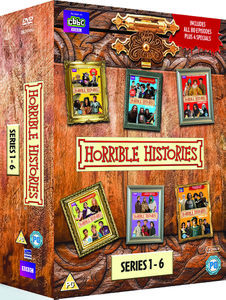 Horrible Histories Box Set - Series 1 - 6 & Specials