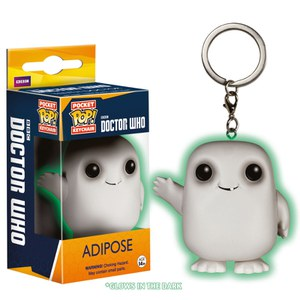 Doctor Who Glow in the Dark Adipose Funko Pop! Keychain
