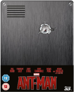 Ant-Man 3D (Includes 2D Version) - Zavvi Exclusive Limited Edition Steelbook