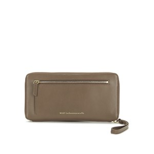 WANT LES ESSENTIELS Women's Liberty Set Travel Wallet/Passport Cover - Mocha