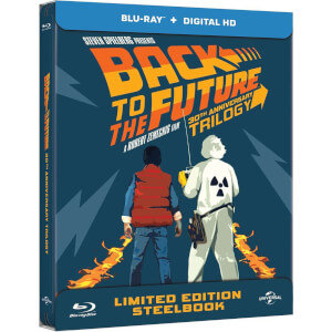 Back to The Future Trilogy - Zavvi Exclusive Limited Edition Steelbook Box Set