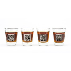 Truth or Dare Shot Glasses (Set of 4)