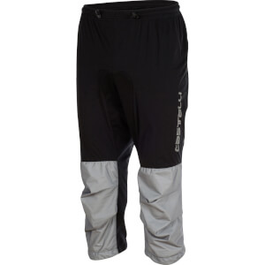 Castelli Tempesta 3/4 Trousers - Black