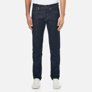 Edwin Men's ED80 Slim Tapered Unwashed Denim Jeans - Dark Blue