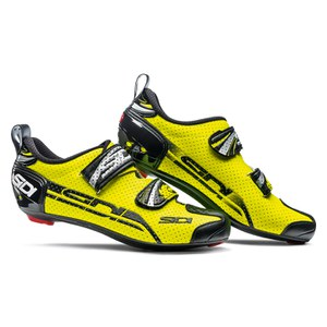 Sidi T4 Air Carbon Composite Cycling Shoes -Yellow Fluo/Black