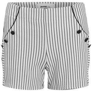 Vero Moda Women's Ingrid Nautical Shorts - Black Iris