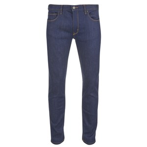 HUGO Men's HUGO734 Straight Fit Jeans - Denim Blue