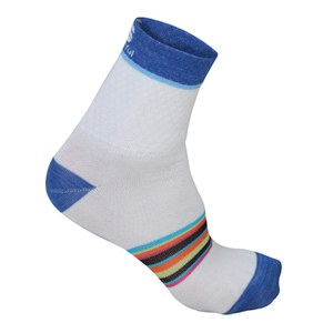 Sportful Women's Wool 13 Socks - White/Blue