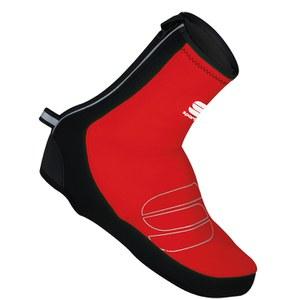 Sportful Reflex Windstopper Shoe Covers - Red/Black
