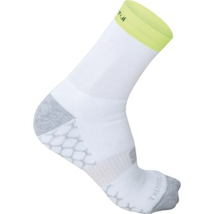 Sportful Arctic 13 Socks - White/Yellow Fluo