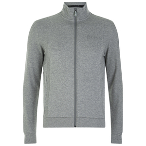 BOSS Green Men's Skax Funnel Neck Sweatshirt - Grey
