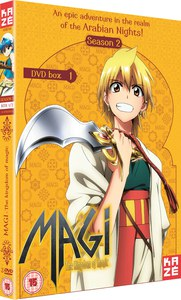 Magi The Kingdom of Magic - Season 2 Part 2