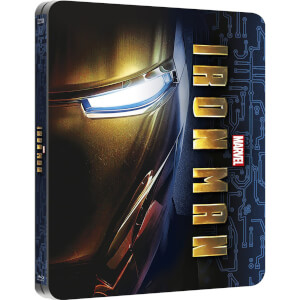 Iron Man - Zavvi exklusives (UK Edition) Lentikular Limited Edition Steelbook