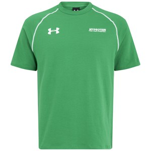 Under Armour Escape Heren Charged Katoenen T-Shirt, Emerald