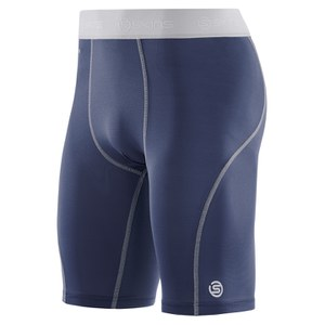Skins Carbonyte Men's Half Tights - Navy
